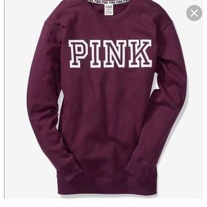 Brand new Pink crew neck sweater ! 😊